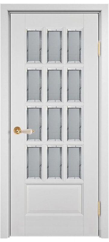 Межкомнатные двери Лондон (Массив ольхи-эмаль)