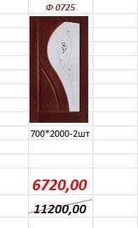 Межкомнатная дверь Ф0725